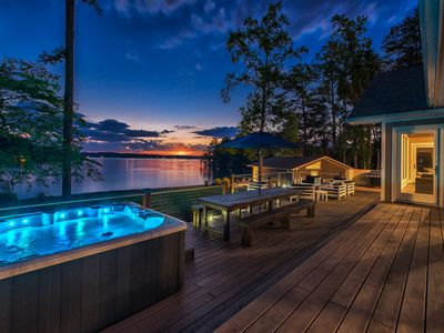 Photo for Lakefront Luxury with Separate Guest House