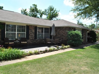 Photo for 4 bedroom home, perfect for your trip to NWA!