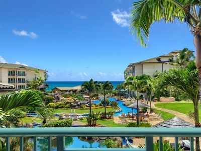 Photo for Waipouil Beach Resort Exquisite Luxury Oceanview - Best Location! Aloha!