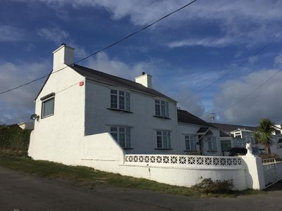 Photo for Luxury Farmhouse - Porthdafarch  - Sea Views, 150m from Beach, Wood-burners