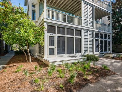Photo for South of 30A in Beach District! Seconds to beach & beach club!