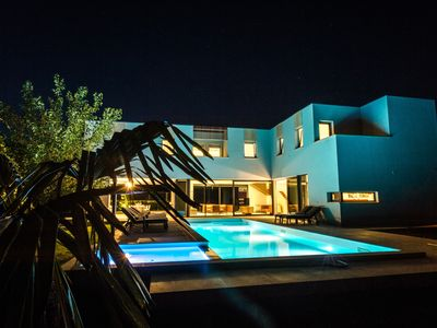 Photo for LUXURY 7 BEDROOM VILLA  WITH PRIVATE POOL,TENNIS COURT,GYM AND SPA