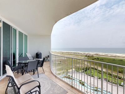 Photo for NEW LISTING! Upscale, waterfront resort condo w/ shared pool, hot tub, & tennis