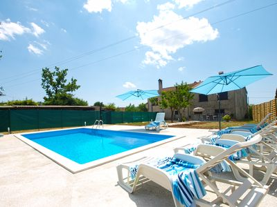 Photo for Holiday house Zminj for 6 - 8 persons with 3 bedrooms - Detached holiday house