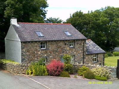 Photo for A recently (2008) modernised early 19th century cottage in its walled garden