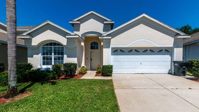 Photo for Delightful 4 bedroom pool home in Windsor Palms Resort, close to theme parks!