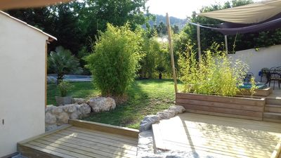 Photo for Holiday villa, quiet, with garden swimming pool and spa ...