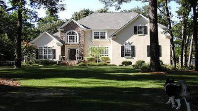 Photo for Masters Rental. Large Estate. Pool, Hot Tub,Plenty of Parking. 10 min to course