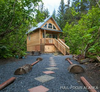 Photo for Privately situated amongst the peaceful trees, just a short walk to Lost Creek!
