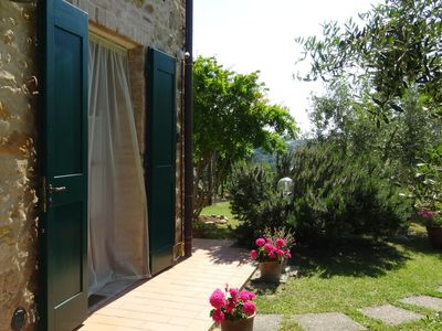 Photo for Well kept property with garden with lovely panorama.