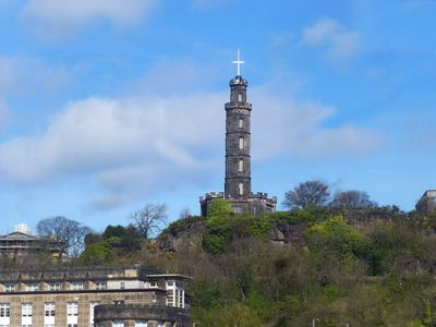 Photo for New Street, right beside the Royal Mile at Canongate, with Calton Hill view