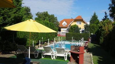 Photo for Holiday apartment with pool and private sun terrace