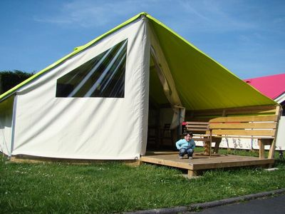 Photo for Camping Riva Bella **** - Ecolodge Junior 3 Rooms 4 People Without Bathroom