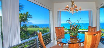 Photo for Pali Ke Kua 119-Air-conditioned, private, corner condo with amazing ocean facing windows!