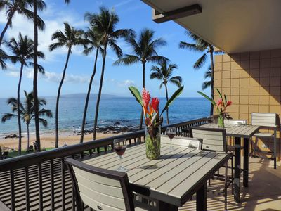 Photo for OCEANFRONT LOCATION, DESIGN EXCELLENCE-ESCAPE TO MAUI IN MAY SPECIAL RATE