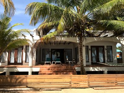 Photo for Beachfront House In Hopkins Bay, Belize