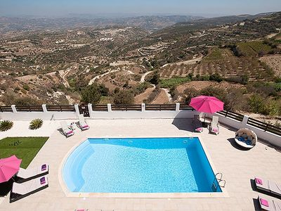 Photo for Villa Arcadia- A Stunning 5 * Luxury Villa With Private Pool  & Fabulous Views!