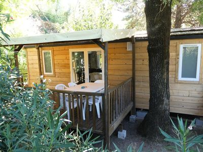 Photo for Camping Le Parc des Monges *** - Mobile Home 3 Rooms 4 People