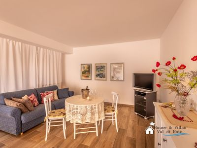 Photo for Basement in villa 150 meters from the sea, wifi, air conditioning, garden and bbq.