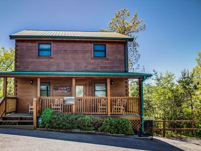 "Photo for ""A Lasting Impression"" is a luxurious cabin located only minutes from the Parkway in Pigeon Forge."