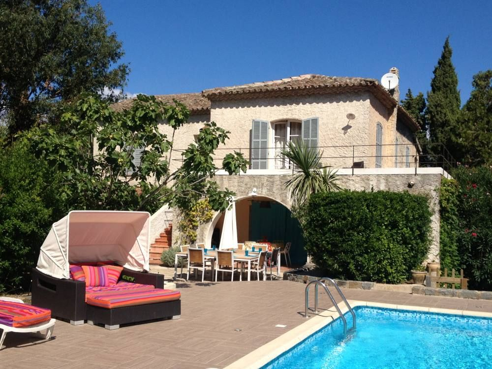 Big House With Swimming Pool Homeaway Saint Tropez