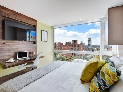 Photo for Urban Heights - Trendy Units w/ views in Chapinero Alto