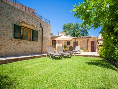 Photo for CAN BOI DEN CIFRE - Chalet with private garden in Pollensa.
