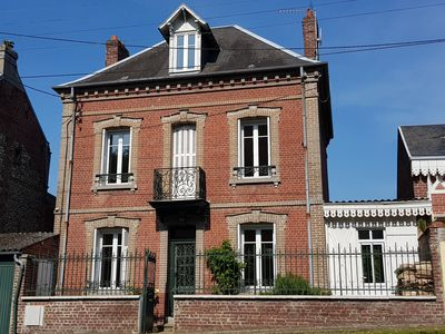 Photo for 19th century house with garden center of Eu, sleeps 10, comfort & charm