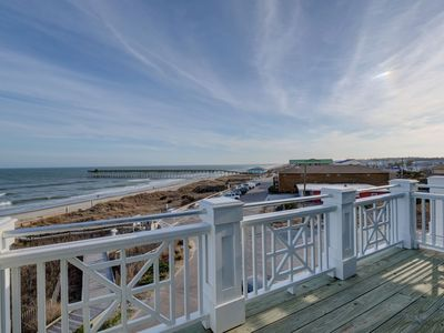 Photo for KB Villa C7 – Oceanfront condo with large decks and panoramic water views