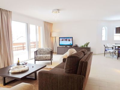 Photo for Beautiful apartment for 7 guests with hot tub, WIFI, TV, balcony and parking