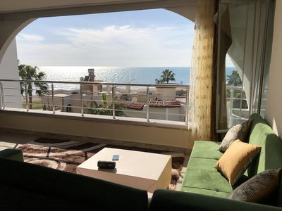 Photo for Charming sea view apartment in Mezitli / Mersin