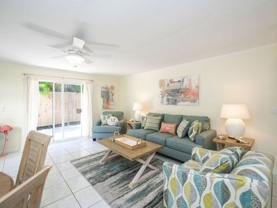 Photo for Living the Dream at this Beautiful 2 Bed/2 Bath Across from Siesta Key Beach!!