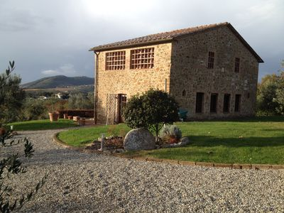 Photo for Private Villa and Garden with Spectacular Views of the Chianti Countryside