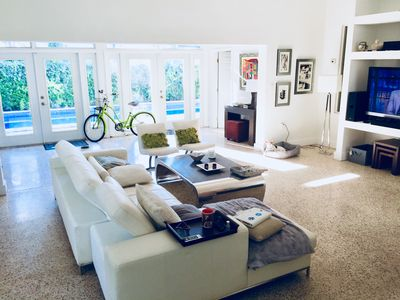 Photo for Modern 3/2.5 home w a Pool next to downtown Miami