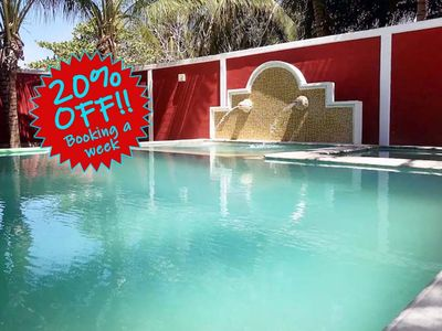 Photo for Paradise Beach House 20% Off for the week. 40% off the monyh