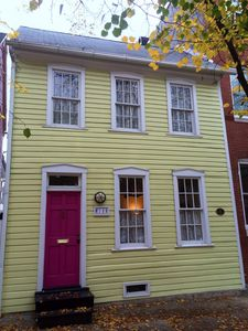 Photo for Fells Point-Spacious 18th Century Art-Filled Townhouse On Ann Street