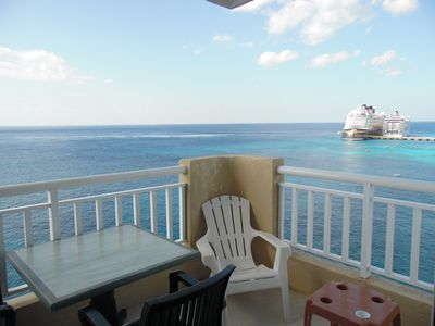 Photo for EL Cantil - COCONUT Penthouse - Ocean Front One Bedroom - Stunning Sunset Views!