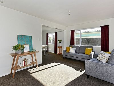Photo for Sunny Christchurch Townhouse - Holiday Home