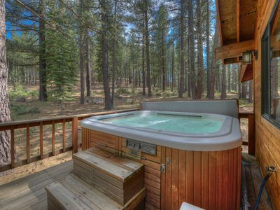 Photo for Northstar Family Cabin, Hot Tub, Rec Center Access