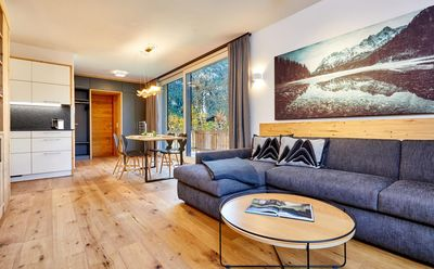 Photo for Apartment in Garmisch, centrally located at the spa park, free WiFi, up to 2 people