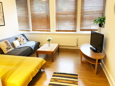 Photo for 2 double bedroom apt - 4 mins walk to tube