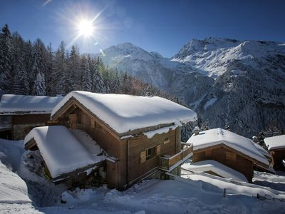 Photo for Spacious Chalet with stunning views