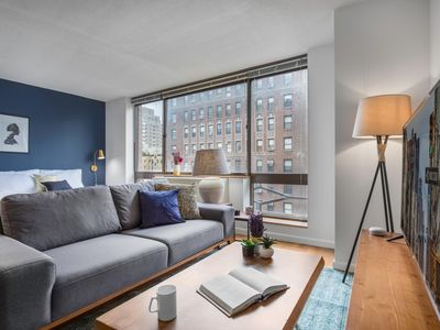 Photo for Thoughtful UWS Studio w/ Gym near Central Park by Blueground