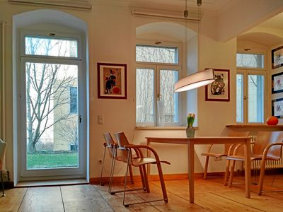 Photo for Neustadt-Paradies, apartment with terrace in the Kunsthofpassage
