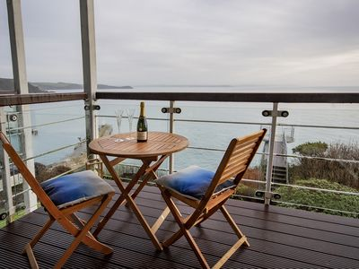 Photo for 1st Floor Apartment With Outstanding Sea Views With Access To Look-Out Platform