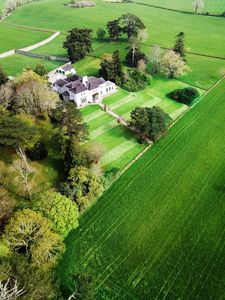 Ariel view of Coolclogher House