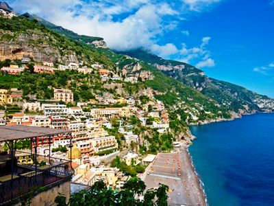 Photo for Apartment Mare A with Sea View, Air Conditioning Positano Center