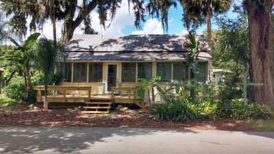 Photo for EXPERIENCE AUTHENTIC OLD FLORIDA @ THIS CRACKER COTTAGE; WALK TO DE LEON SPRINGS