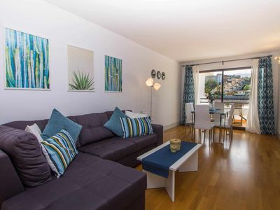 Photo for Modern apart. 200m from the beach + pool + garage + WIFI