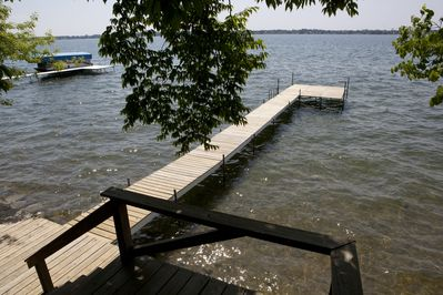 Our lake access.